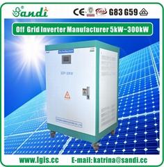 30KW Pure Sine Wave Split-phase Solar Inverter