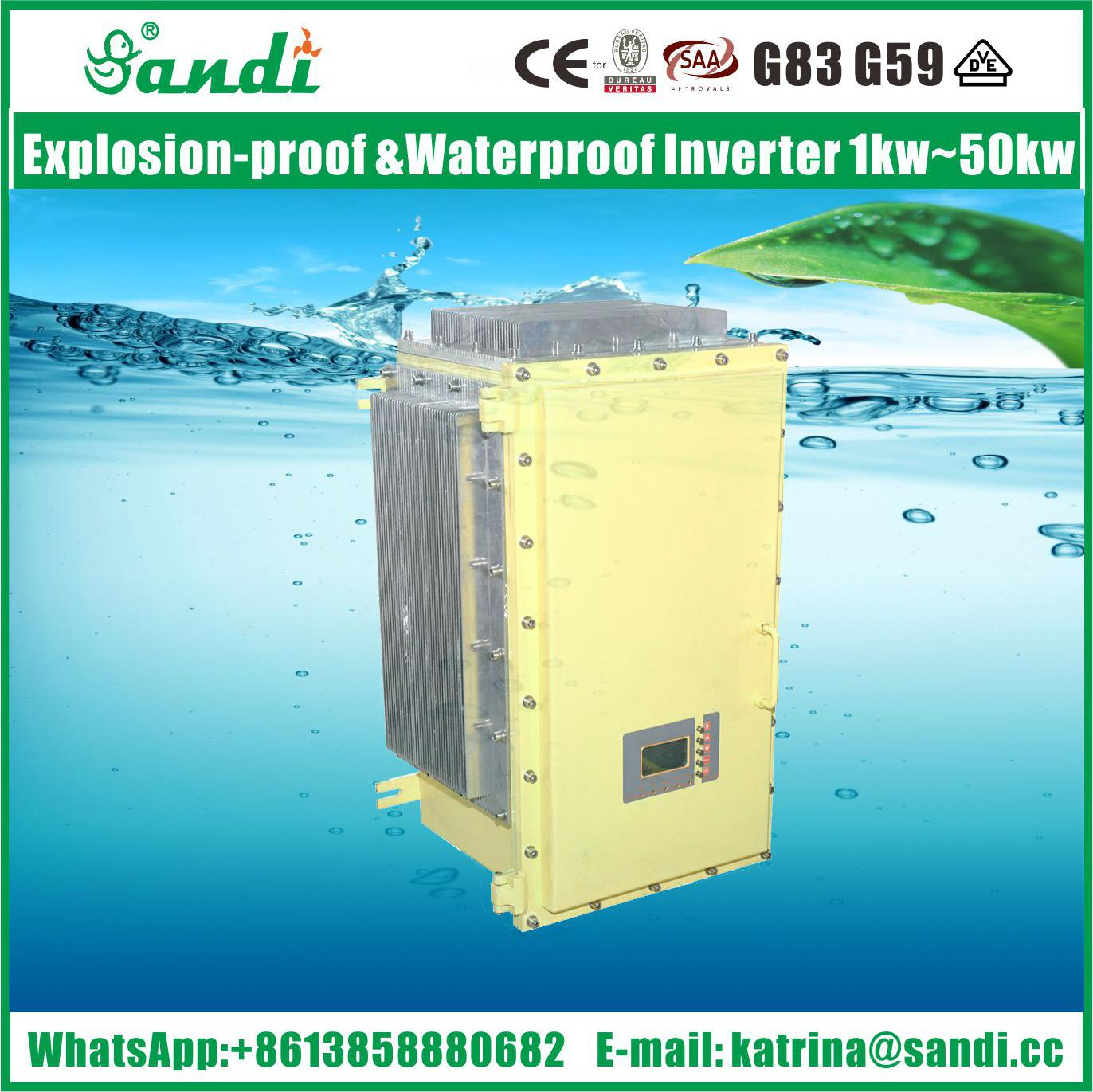 Mining use explosion proof low frequency inverter