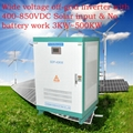 200KW off grid inverter with solar input 400-850VDC without battery system