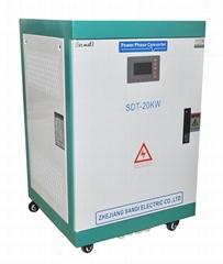 20KW單相220VAC轉三相380VAC電源轉換器