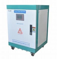 SDT-8KW高性價比單三相轉換器220V轉380V電源10KW轉換器.