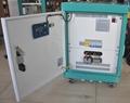 10KW static phase converter 120/240VAC split phase to 220/380V 3 phase output