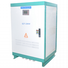 25kw static phase converter 220VAC single phase to 220V 3 phase output
