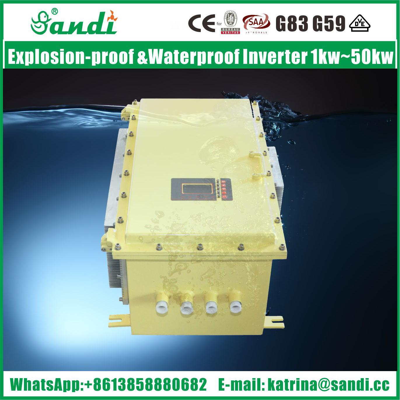Coal Mine / petrol station Use Explosion-proof low frequency inverter