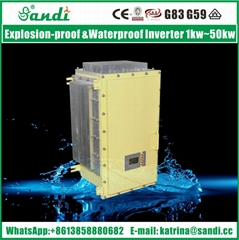 customized explosion proof inverter 5kw to 200kw