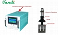 Ultrasonic Welder for ear loop with generator converter and horn