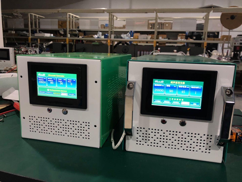 20khz 2000w ultrasonic welding generator+transducer+horn machine for produce nonwoven fabric masks