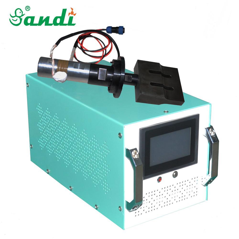 CE approved 20kHz digital ultrasonic generator transducer horn for mask welding