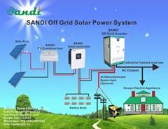 太陽能離網發電系統