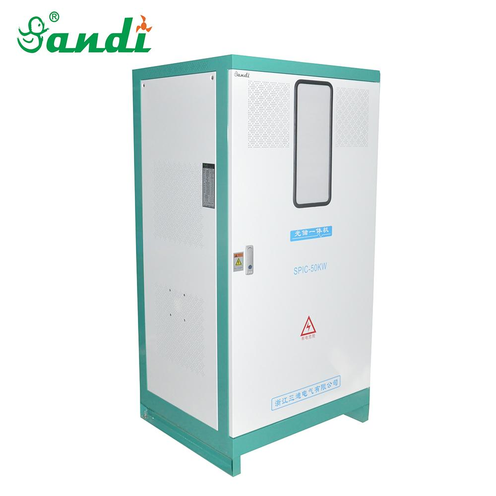 60KW Integrated off grid solar Inverter with built-in solar charge controller