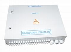 16汇1光伏汇流箱直流配电箱汇流箱太阳能光伏发电系统汇流箱