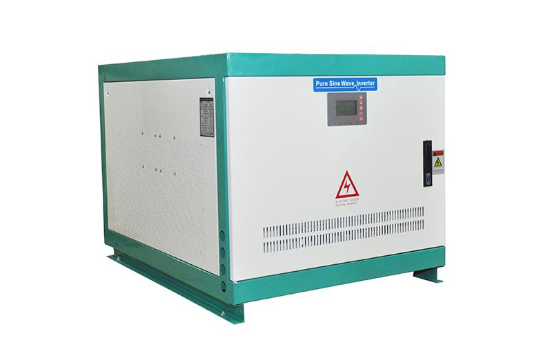 High voltage 500-800VDC high frequency inverter 50kw for car vehicle ship train power supply