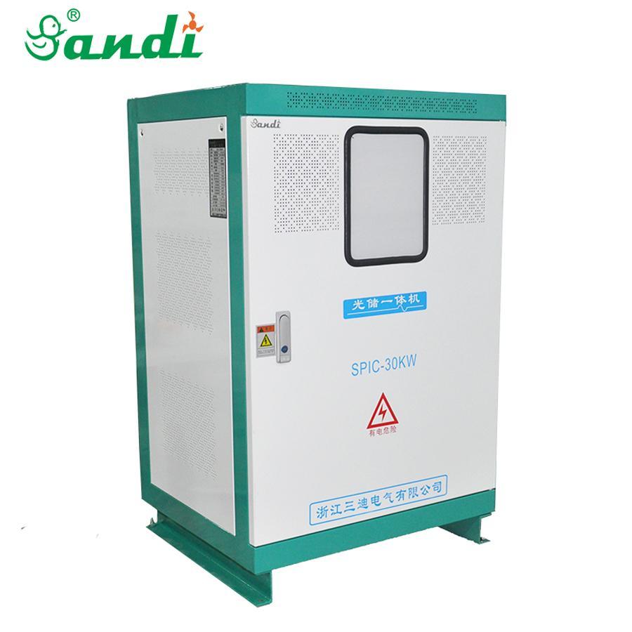 30KW光伏发电专用逆变控制充电一体机