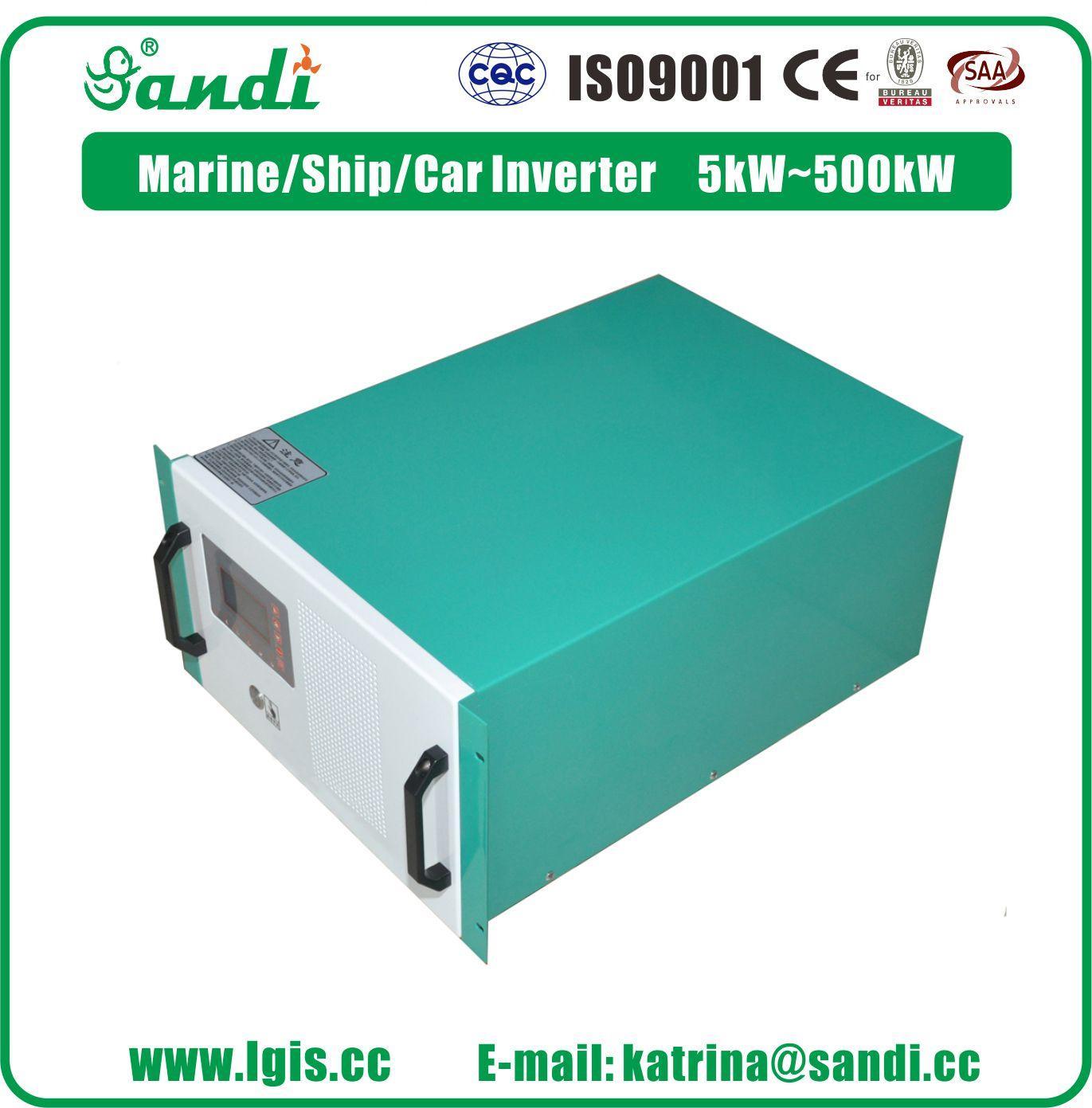 车载专用逆变器SDP-10KW电源转换器DC360V转AC220V