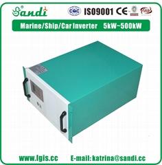 车载专用逆变器SDP-10KW电源转换器DC360V转AC2