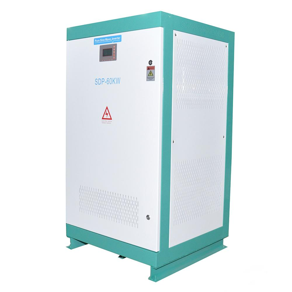 60KW Off grid power inverter 480VDC to 400VAC 3 phase