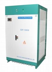 100kw hybrid solar inverter intelligent work WITHOUT battery off grid inverter