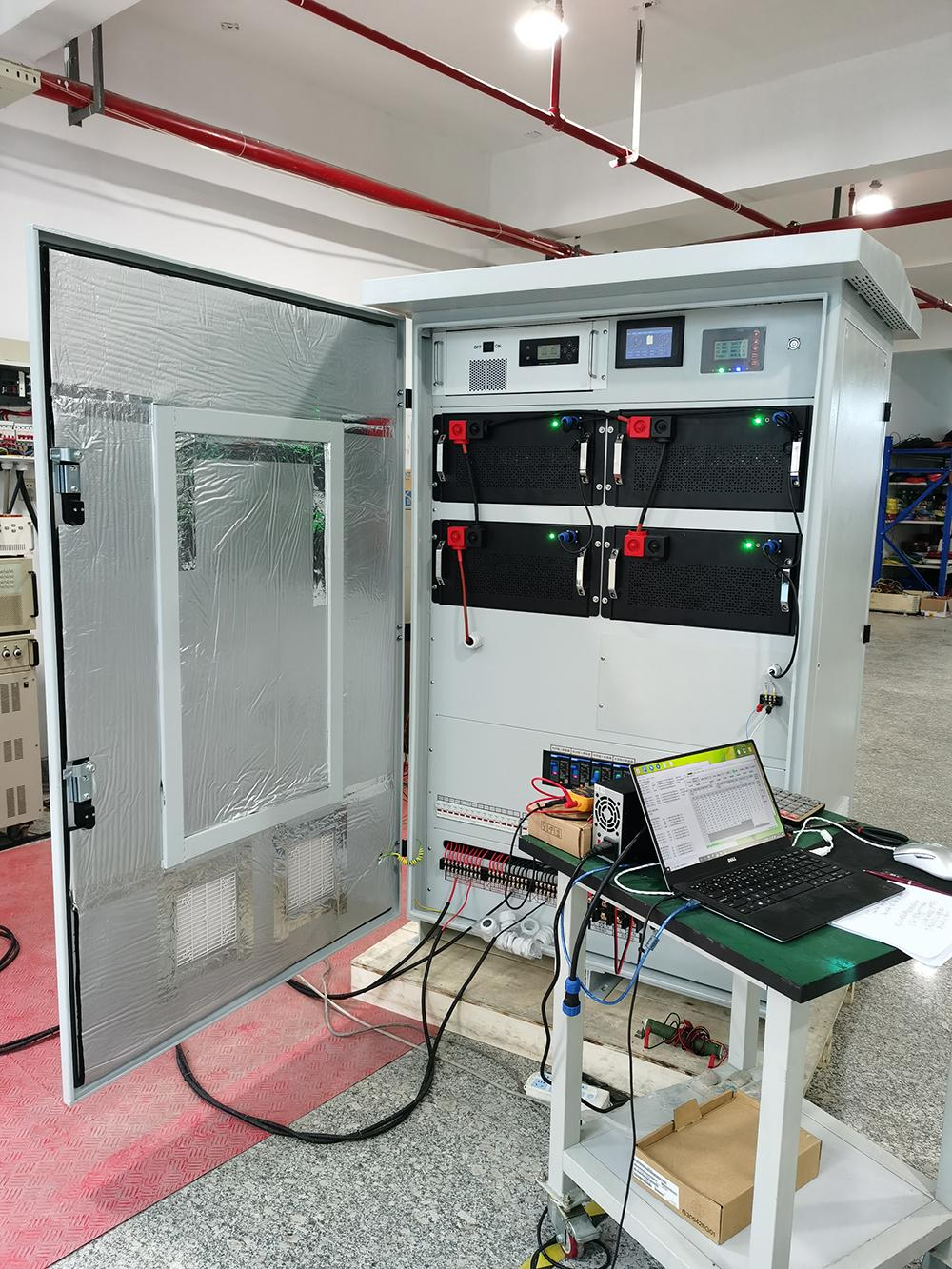 Lithium ion batteries 100KWH lifepo4 solar energy storage cabinet with Inverter and BMS