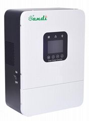 384V-100A智能太陽能充電控制器