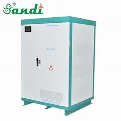 大型锂电池储能柜120kWh光伏储能锂电系统600V200AH大容量磷酸铁锂电池组
