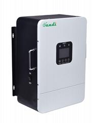 三迪 厂家直销100A MPPT太阳能控制器384V壁挂式光伏充电控制器
