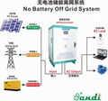 100KW Solar off grid inverters for stand-alone system no need backup batteries
