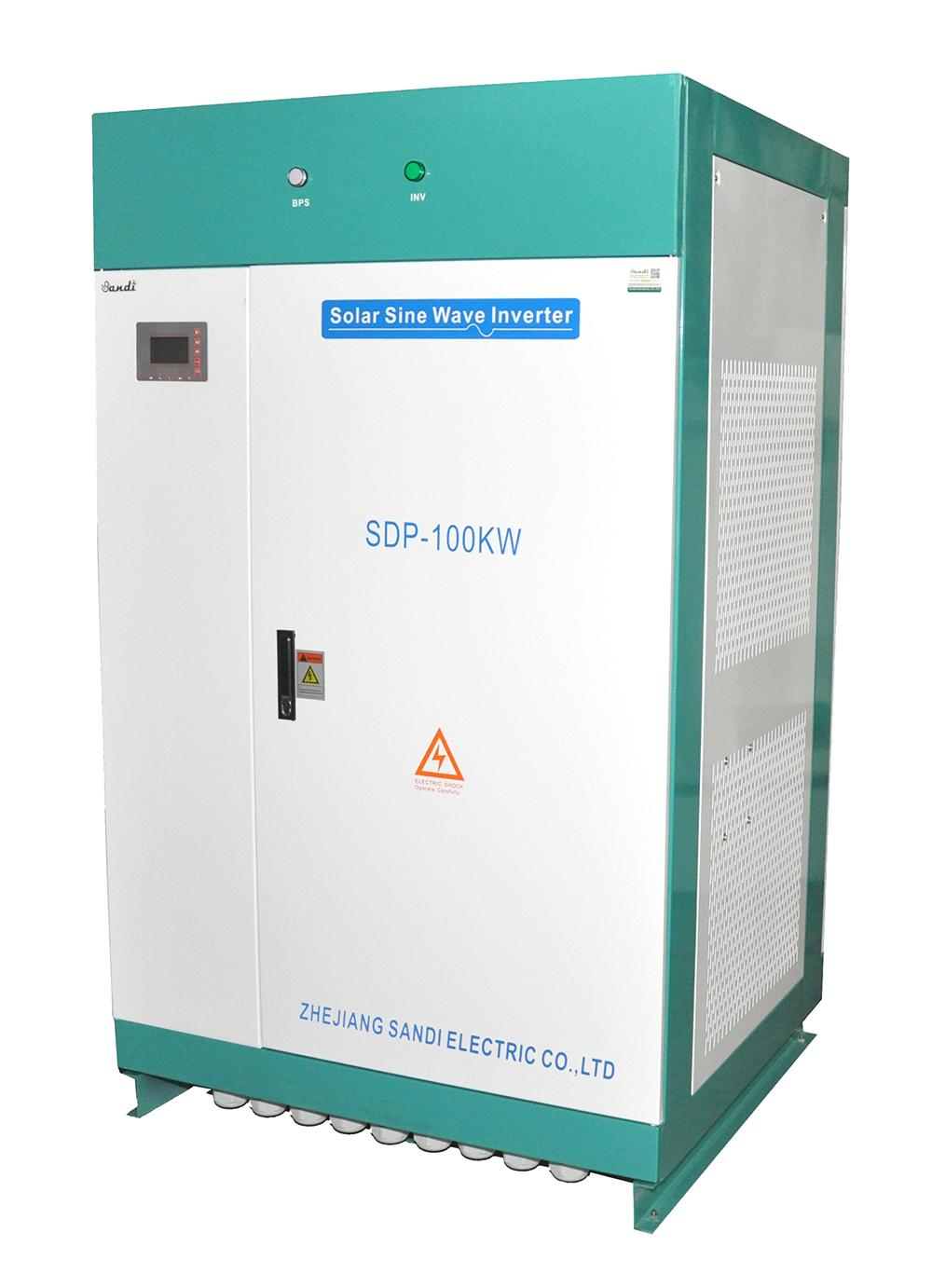 100KW off grid solar inverter work without batteries