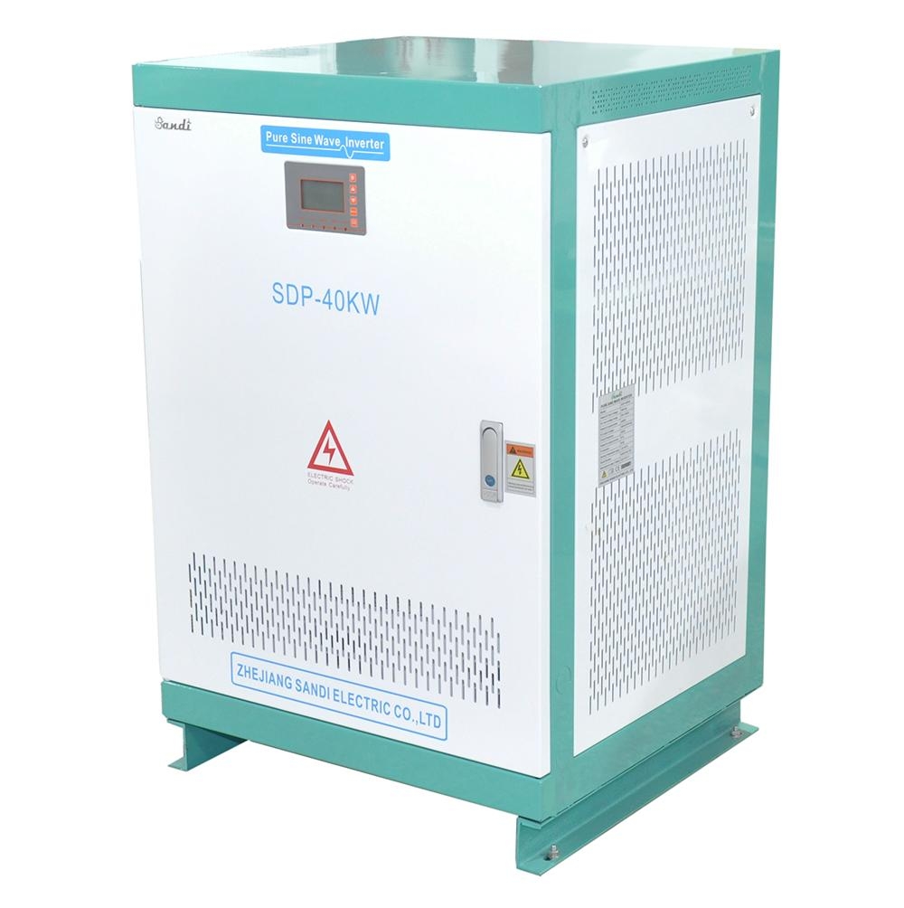Inverter DC to AC 40KW 3 phase off grid solar inverter