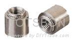 挤压螺母柱KFE KFSE|挤压螺母柱厂家|挤压螺母柱价格
