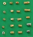 Brass nut ,inserts ,knurling nut