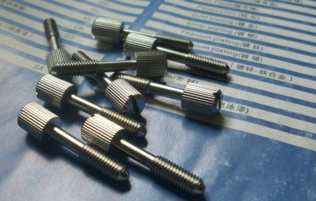 滾花不脫出螺釘GB/T839-1988 1
