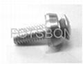 皇冠組合螺釘碳鋼鍍鎳或者不鏽鋼
