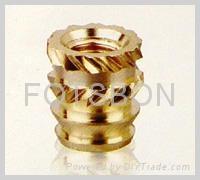 鑲嵌 銅螺母 1