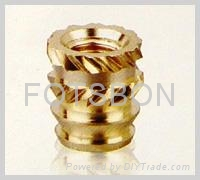 镶嵌 铜螺母 1