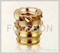 鑲嵌 銅螺母