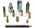 Brass studs Hex studs Interval column