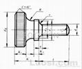 滾花高頭螺釘GB/T834-1988 2