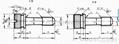 滾花不脫出螺釘GB/T839-1988 2