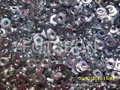碳鋼加硬鑲入螺母F