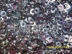 碳钢加硬镶入螺母F