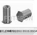 英制壓鉚螺母柱BSO  BSOS  BSOA 3