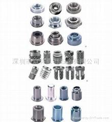 防水螺柱BS|埋頭壓鉚螺柱CSS CSOS|擠壓螺母柱KFE