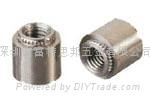 擠壓螺母|擠壓螺母KF2 KFS2|擠壓螺母柱KFE KFSE 2