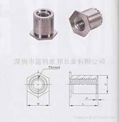 SOSG-3.5M3-10接地压铆螺母柱 SOAG