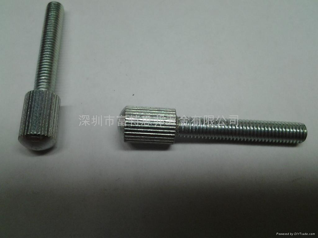 手擰螺釘 滾花頭,碳鋼和不鏽鋼都有做, 4