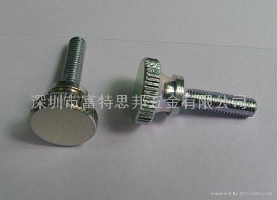 手擰螺釘 滾花頭,碳鋼和不鏽鋼都有做, 5