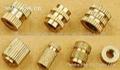 嵌装圆螺母GB809|嵌装圆螺母厂家|嵌装铜螺母价格
