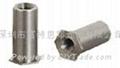 SOA-632-10鋁壓鉚螺母柱 ,通孔,英制,鋁本色,可以氧化 2