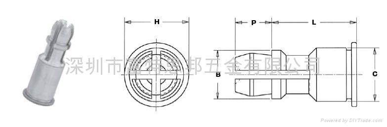 SSS-4-16支撐卡柱 SSC-156-12 SSA-4-8 2