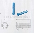 FHS-M6-14壓鉚螺釘FH FHS 圓頭壓鉚釘,不鏽鋼壓鉚螺柱